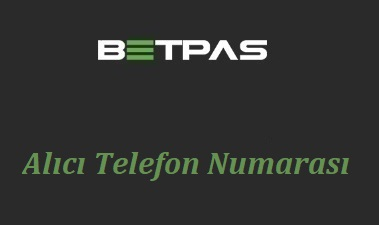 Betpas Alıcı Telefon Numarası
